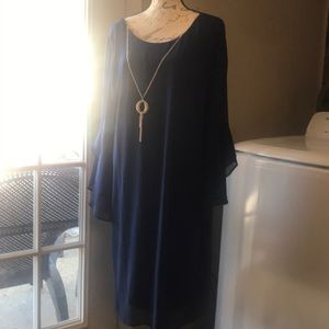 Thalia Sodi 2x Navy Blue Dress New with Tags